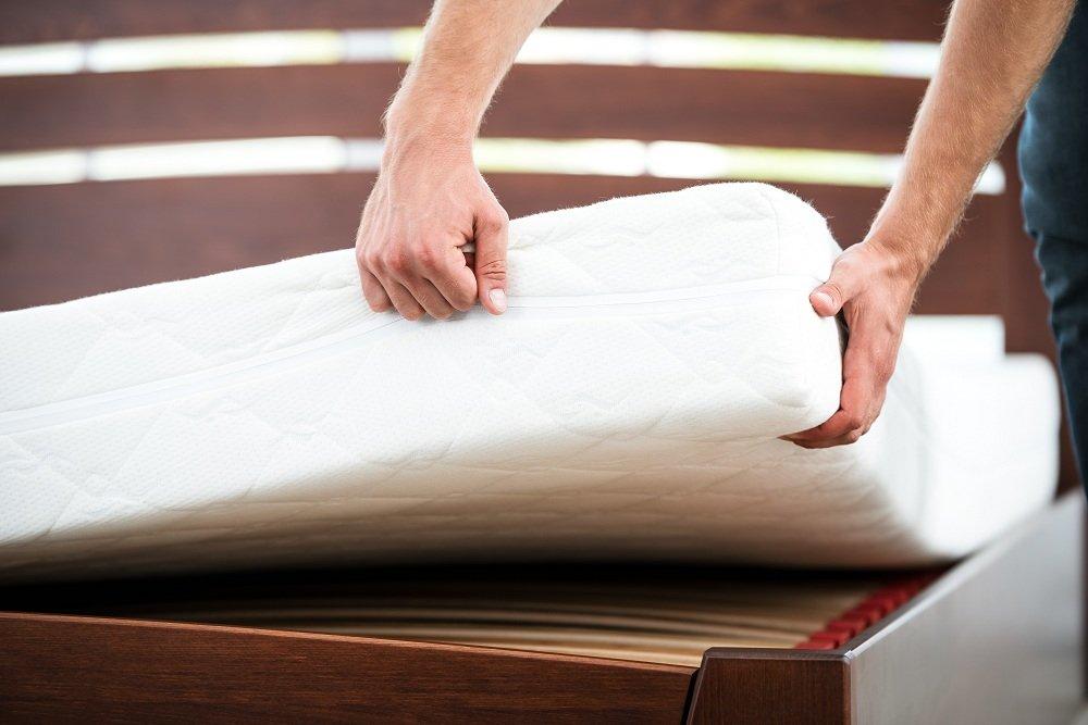 checking a mattress