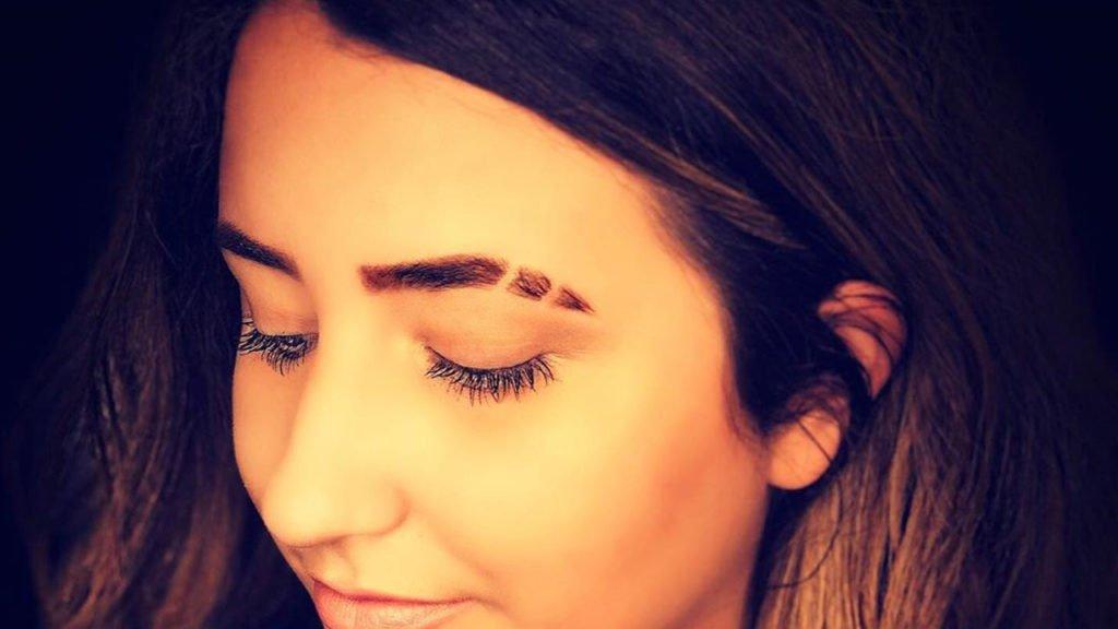eyebrow slit image