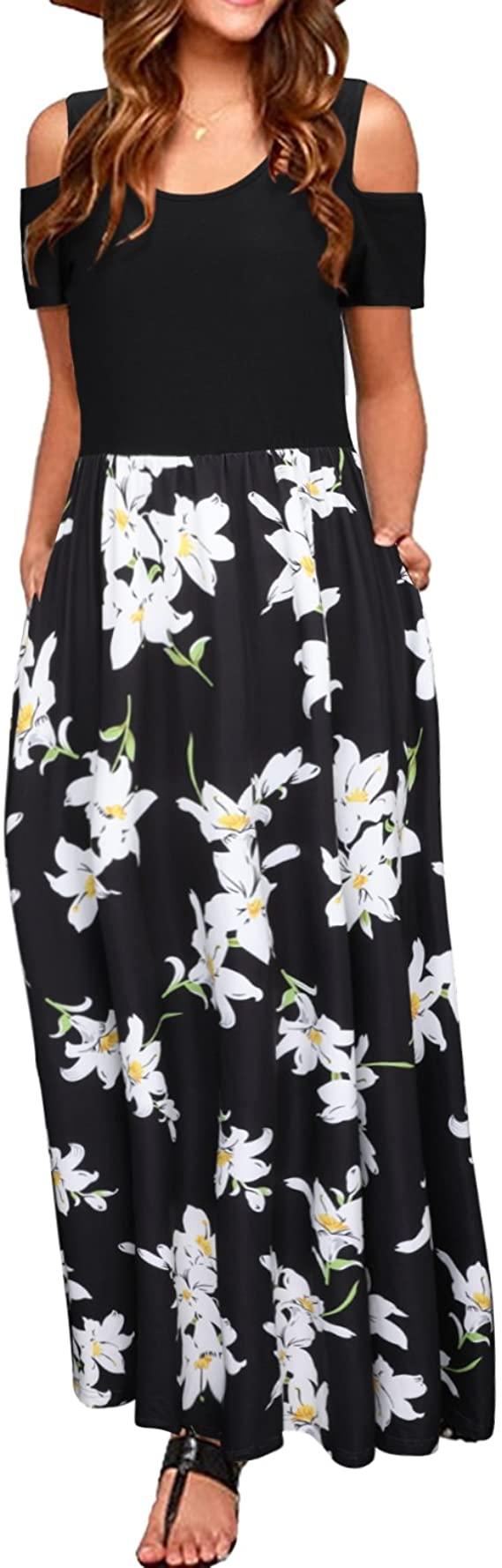 woman wearing a long skirt